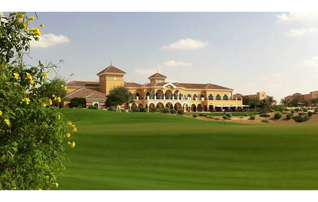 green, the els club, dubai, united arab emirates