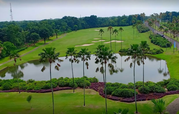 Emeralda golf country club, jakarta, indonesia