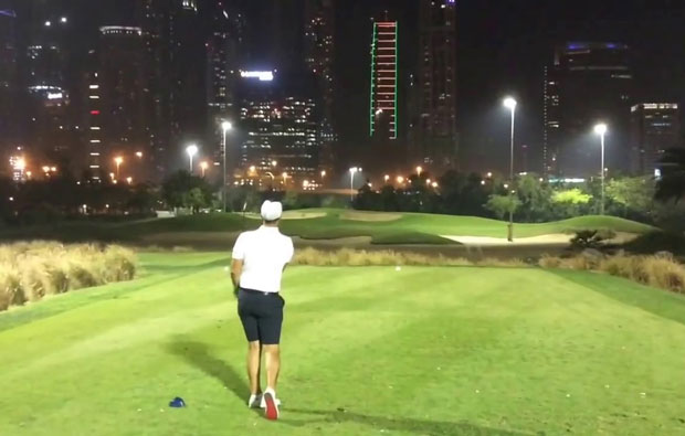 Emirates Golf Club Faldo Night Golf