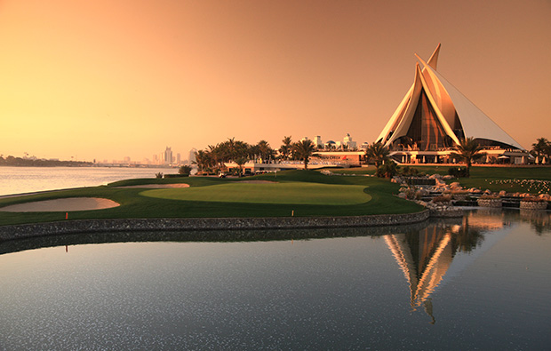 clubhouse, dubai creek golf club, dubai, united arab emirates