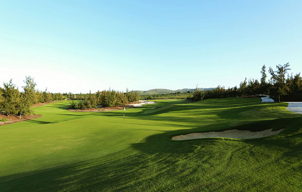 FLC Quy Nhon Golf Links Green