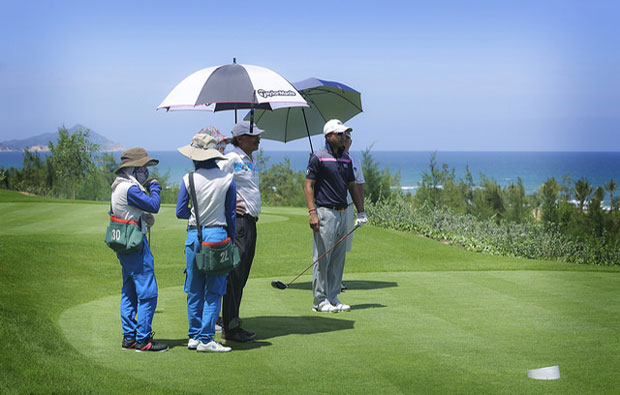 FLC Quy Nhon Golf Links Tee Box