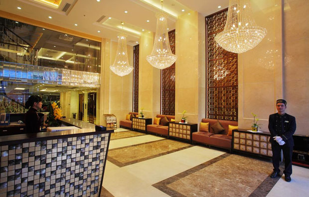 Golden Silk Boutique Hotel Lobby