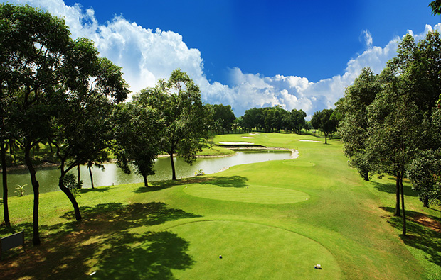 tee box, vietnam golf club, ho chi minh, vietnam