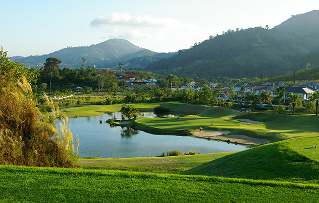 14th hole loch palm golf club, phuket