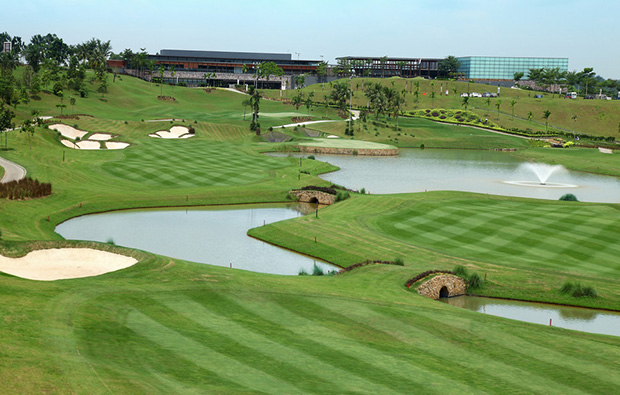 fairway horizon hills golf country club, johore, malaysia