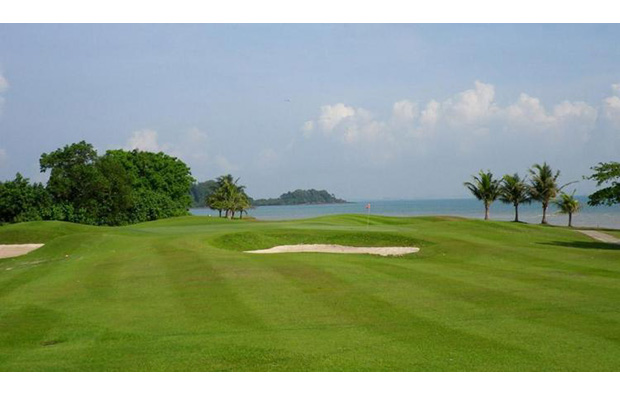 sea view at indah puri golf resort, batam, indonesia