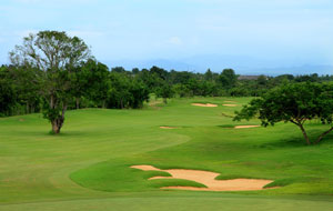 view of fairways, chiangmai inthanon golf resort, chiang mai, thailand