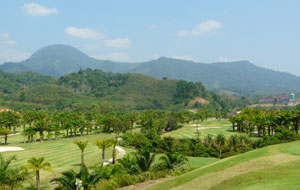 view over katathong golf resort, phuket