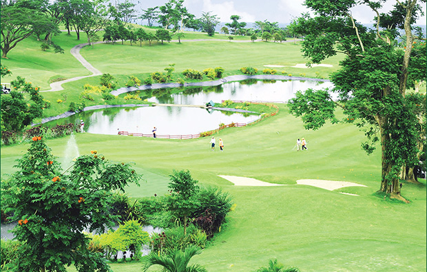Aerial View KC Hillcrest Hotel Golf Club, Manila, Philippines