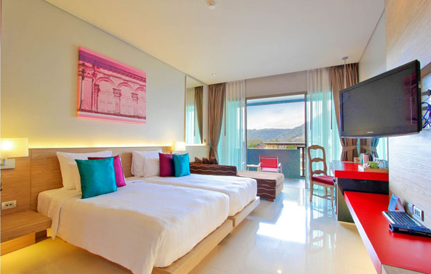 The KEE Resort and Spa Patong Deluxe Room