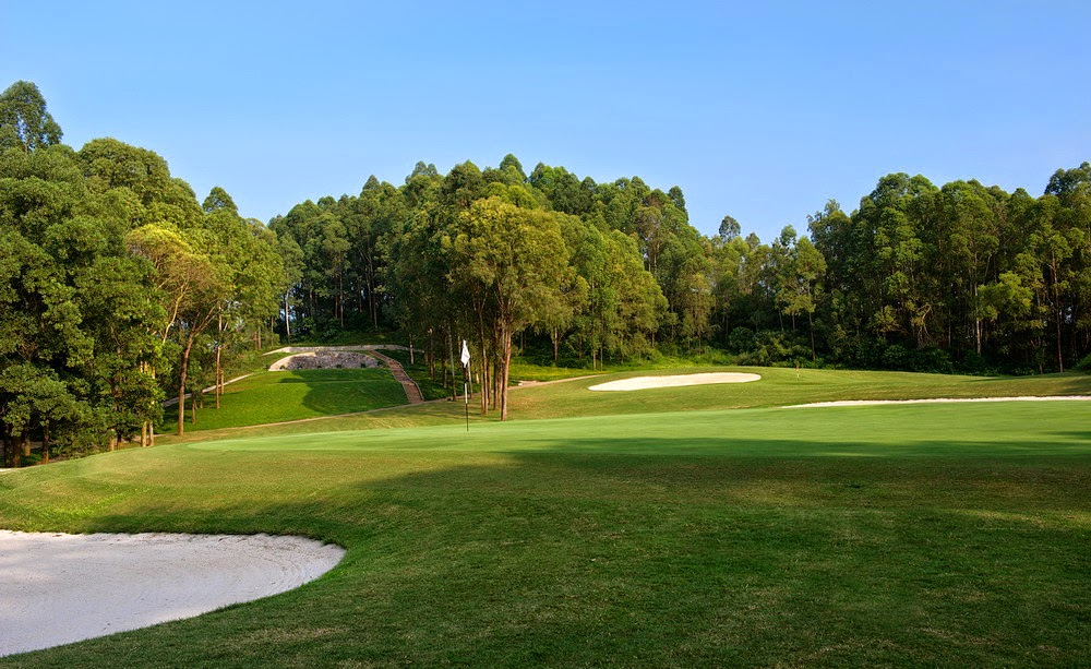 kings island country club mountainview course, hanoi, vietnam