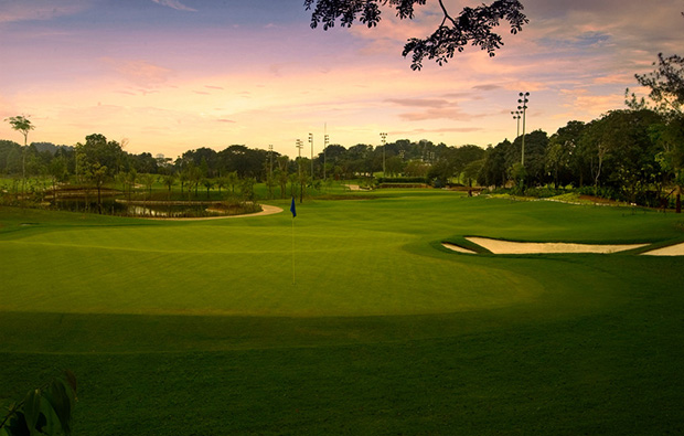 duskkuala lumpur golf country club