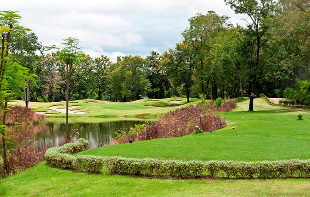 par 3 at  lao country club, vientiane, laos