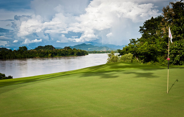 lake side of luang prabang golf club, luang prabang, laos