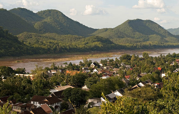 Mekong River at Luang Prabang