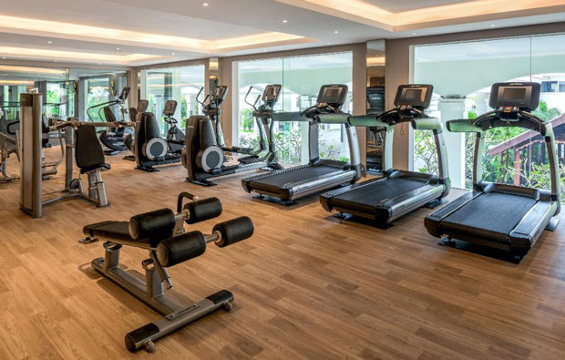 Marriott Hotel Fitness Center