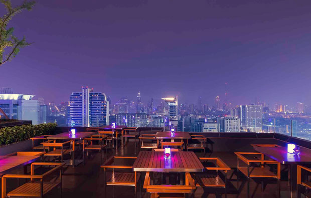 Mercure Bangkok Siam rooftop bar