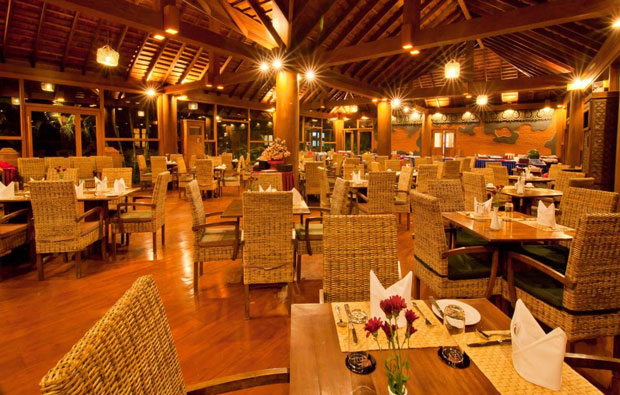 Myanmar Treasure Resort restaurant