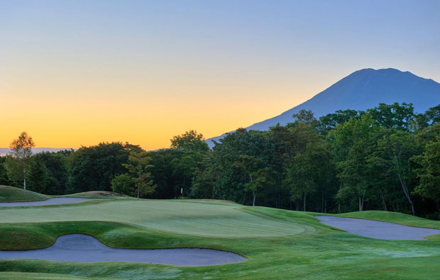 Niseko Golf Course Green
