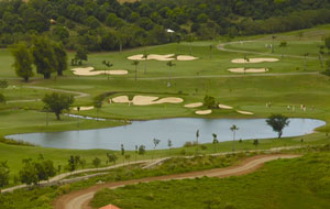 Aerial View Royal Northwoods Golf Country Club, Manila, Philippines