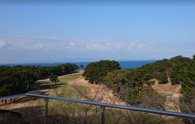 Osaka Golf Club - View from Clubhouse