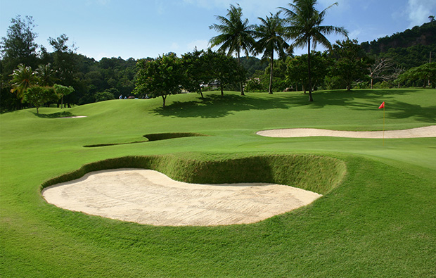 9th green phuket country club, phuket