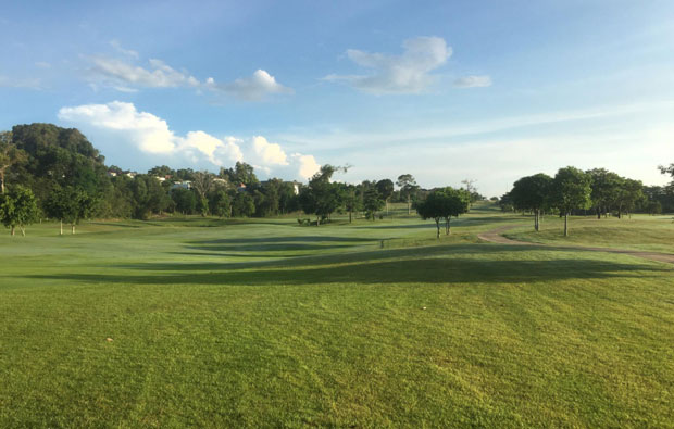 Padang Golf Sukajadi Wide open fairways