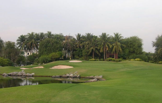 Panya Indra Golf Course green