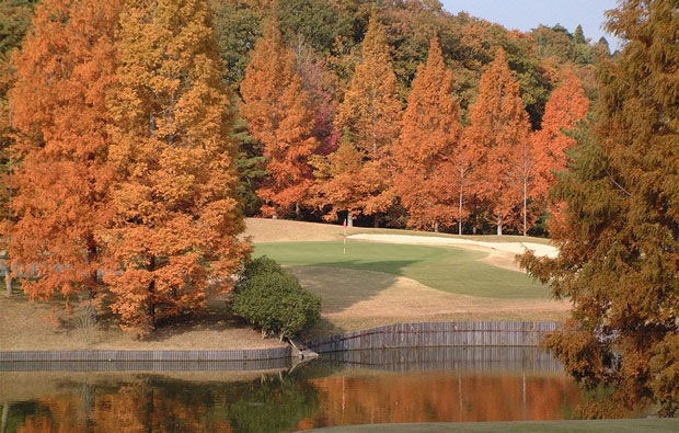 PGM Sohsei Golf Club Autumn View