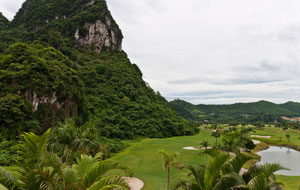 fairway, phoenix golf resort, hanoi, vietnam