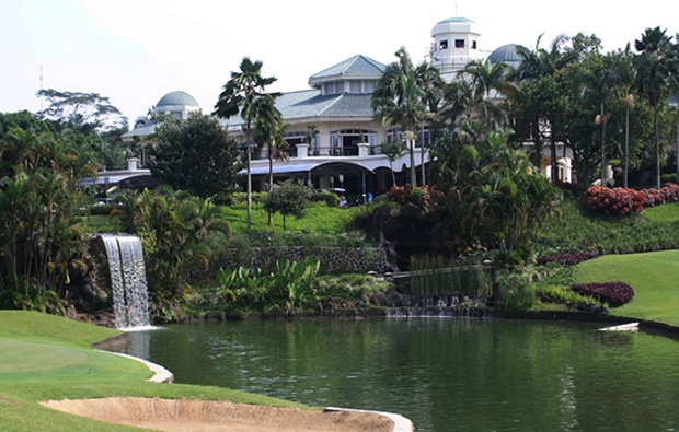 clubhouse, rancamaya  golf country club, jakarta, indonesia