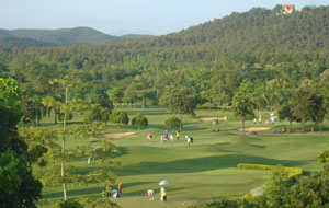 panoramic view,  royal chiang mai golf resort, chiang mai, thailand