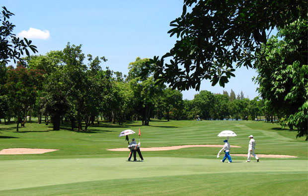 caddies, royal gems golf club, bangkok, thailand