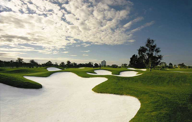 Bunkers Royal Pines Golf Club, Gold Coast, Australia