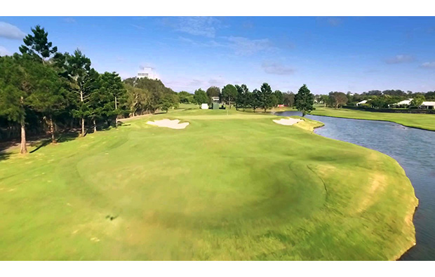 Green Royal Pines Golf Club, Gold Coast, Australia