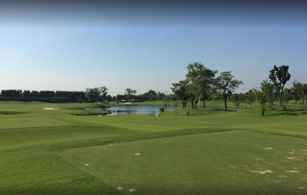 Sampran Golf Club tee box