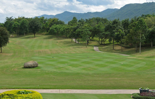 fairway, santiburi chiang rai country club, chiang rai, thailand