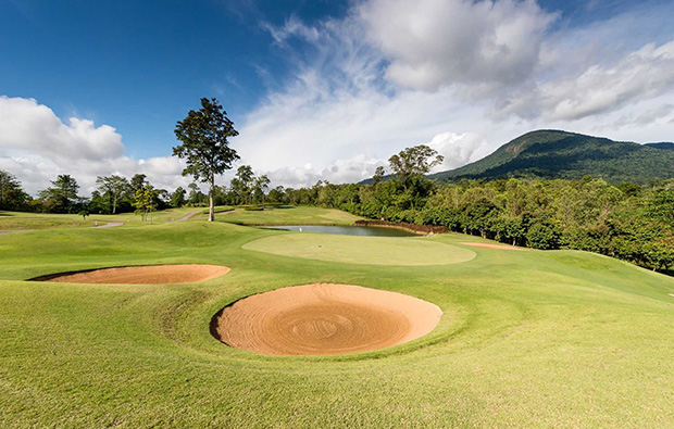 16th hole Soi Dao Highland Golf Resort, Pattaya, Thailand