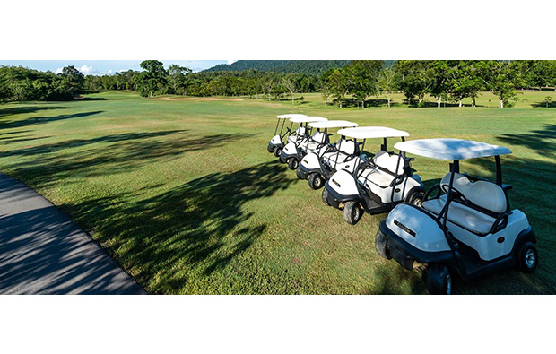 Golf Carts Soi Dao Highland Golf Resort, Pattaya, Thailand