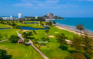 seaside green, sea pines golf course, hua hin, thailand