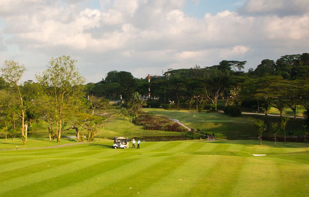 view over Sembawang Country Club, Singapore
