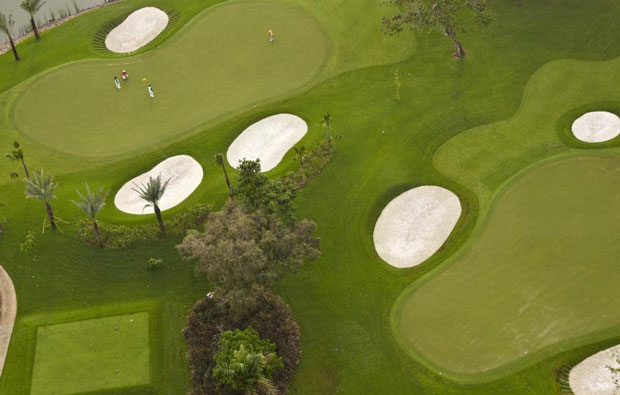 Senayan National Golf Club Aerial