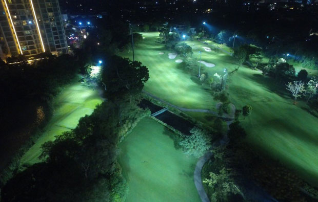 Senayan National Golf Club Night Golf