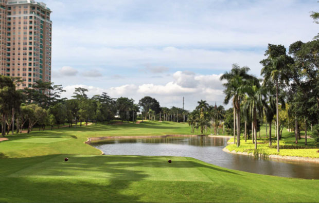Senayan National Golf Club Tee Boxes