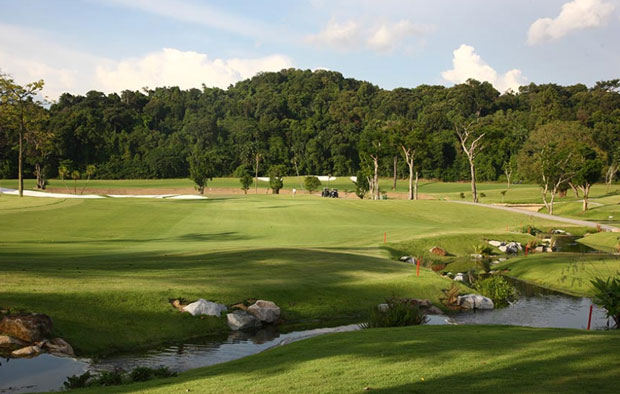 Sentosa Golf Club Tanjong Course Green