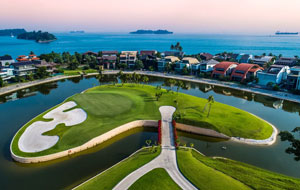 general view Sentosa Golf Club Tanjong Course