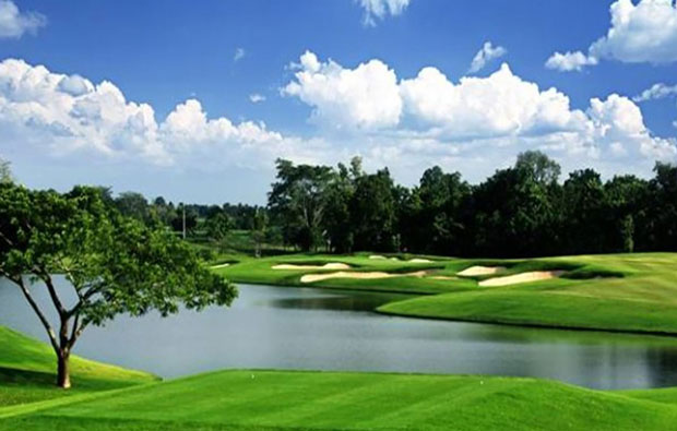 Singha Park Khon Kaen Golf Club Tee Box