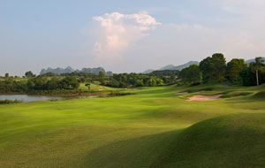 sky lake golf resort, sky course, hanoi, vietnam
