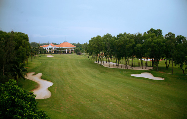 clubhouse, song be golf resort, ho chi minh, vietnam